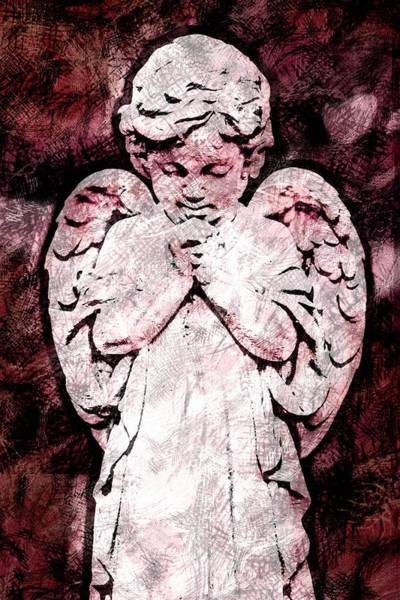 Photograph - Baby Angel Two by Alice Gipson