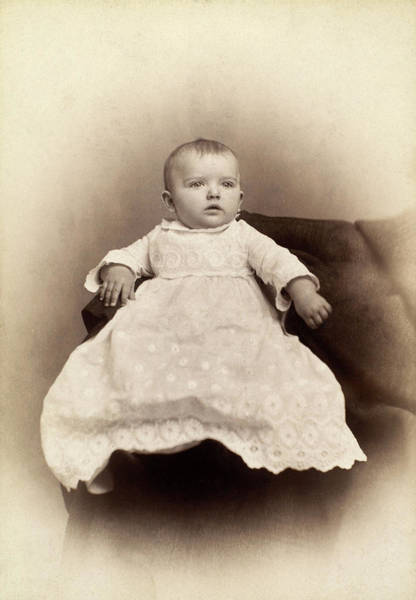 Photograph - Baby, C1885 by Granger