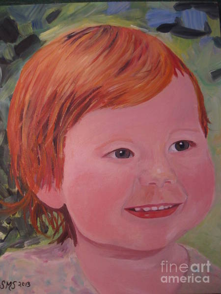 Painting - Baby Cheeks by Stella Sherman