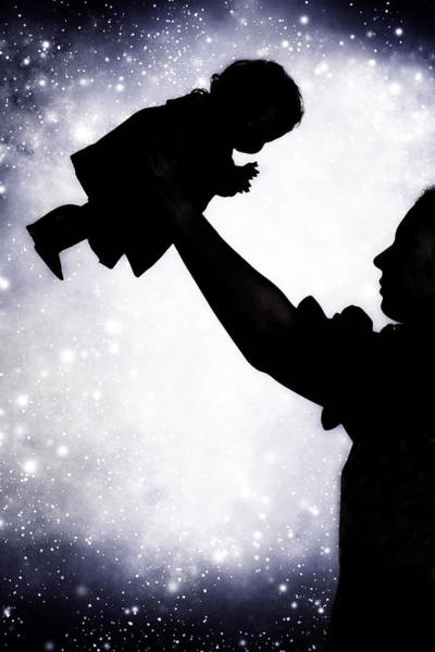 Silhoutte Photograph - Baby Doll by Joana Kruse