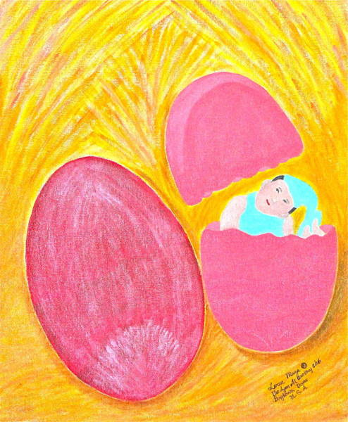 Painting - Baby Egg by Lorna Maza