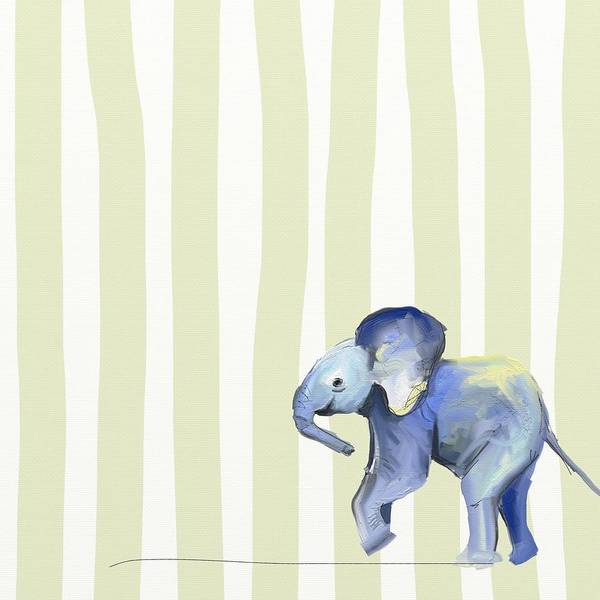 Mammals Wall Art - Photograph - Baby Ellie  by Cathy Walters