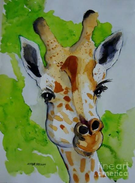 Painting - Baby Giraffe by Marcia Breznay