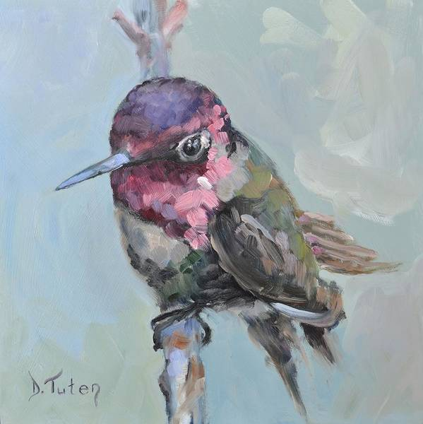 Painting - Baby Ruby by Donna Tuten