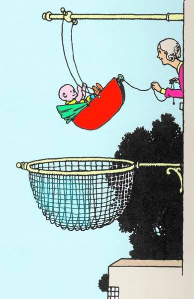Wall Art - Photograph - Baby Swing By W. Heath Robinson by Adam Hart-davis/science Photo Library