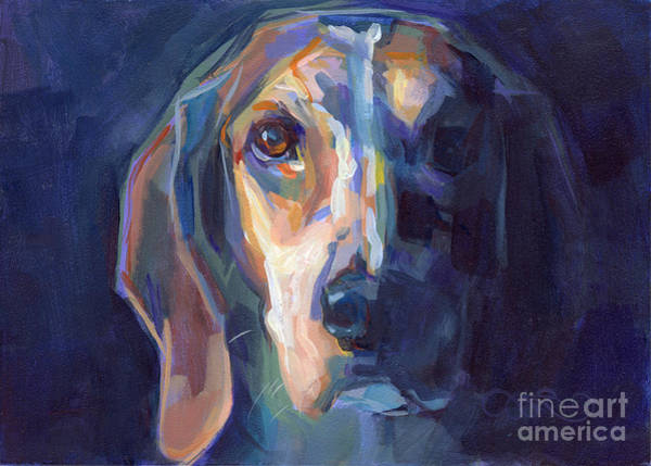 Beagle Painting - Bacchus by Kimberly Santini