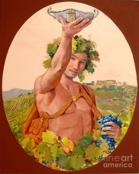 Painting - Bacco Di Kokomani by Sefedin Stafa