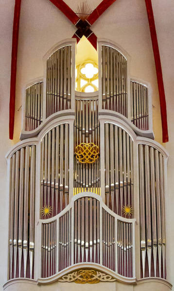Photograph - Bach Organ Leipzig by Jenny Setchell