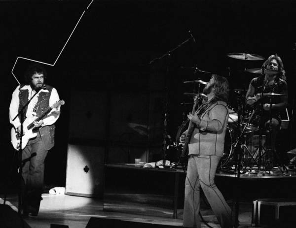 Photograph - Bachman-turner Overdrive In Spokane In 1976 by Ben Upham