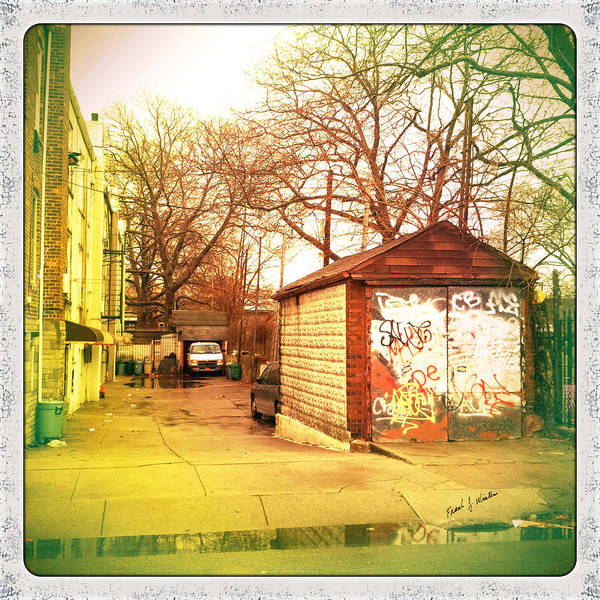 Photograph - Back Alley In Brooklyn by Frank Winters