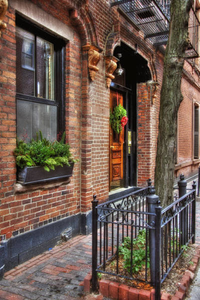 Photograph - Back Bay Doorways by Joann Vitali