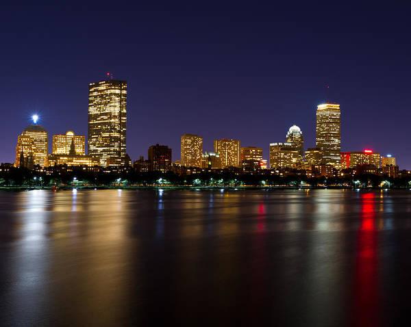 Photograph - Back Bay In  Boston by Michael Blanchette