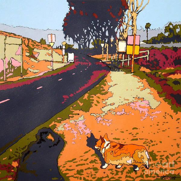 Back Bay Trail #567 Art Print by Max Yamada
