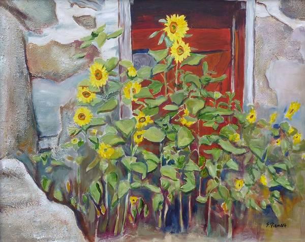 Back Door Painting - Back Door Version II by Sheila Diemert