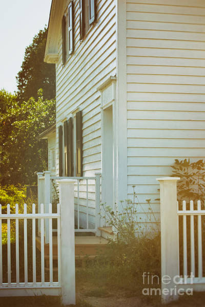 Photograph - Back Entrance Of Old Farm House by Sandra Cunningham