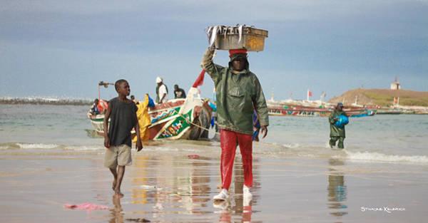 Dakar Photograph - Back Fishing Day by Stwayne Keubrick