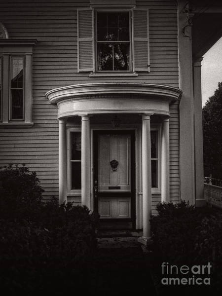 Front Porch Photograph - Back Home Bar Harbor Maine by Edward Fielding
