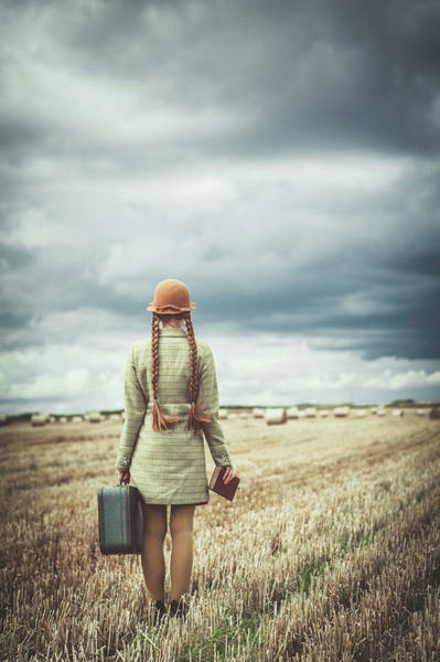 Passenger Photograph - Back Home by Magdalena Russocka