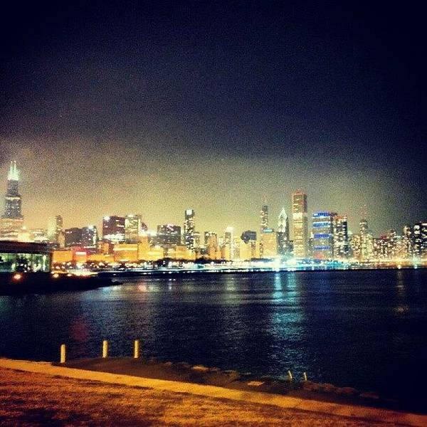 Skyline Wall Art - Photograph - Back In Chicago by Jill Tuinier