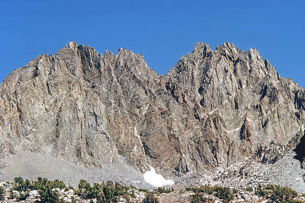 Photograph - M-m6498-back Of Palisades From Dusy Basin by Ed  Cooper Photography