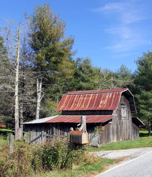 Photograph - Back Road Barn by Jennifer Robin