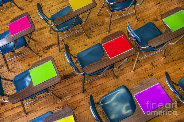 Classroom Photograph - Back To School by Diane Diederich