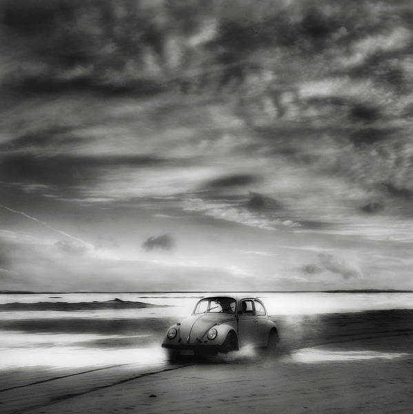 Monochrome Photograph - Back To The Future ... by Yvette Depaepe