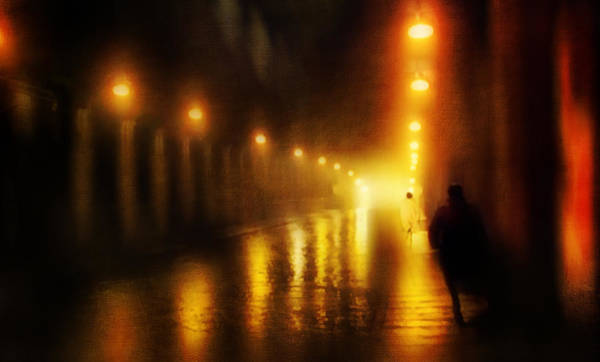 Photograph - Back To The Past. Alley Of Light by Jenny Rainbow