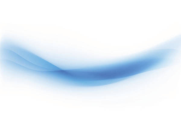 Smooth Digital Art - Background Swirl Blue by Iconeer