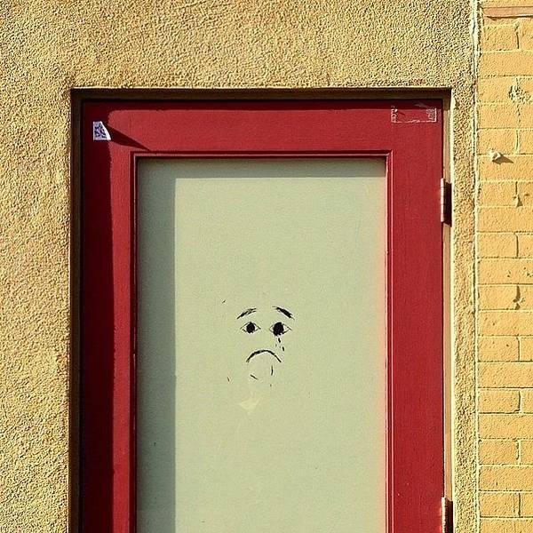 Wall Art - Photograph - Sad Door by Julie Gebhardt