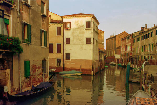 Mixed Media - Backwaters Of  Of Venice by Cliff Wassmann