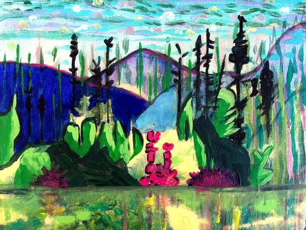 Backwoods 2 Art Print