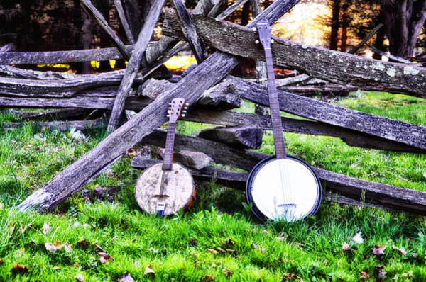 Backwoods Wall Art - Photograph - Backwoods Music by Bill Cannon
