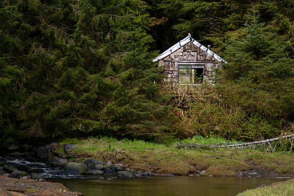 Photograph - Backwoods Shack by Melinda Ledsome
