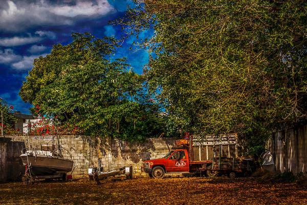 Photograph - Backyard Storage by Melinda Ledsome