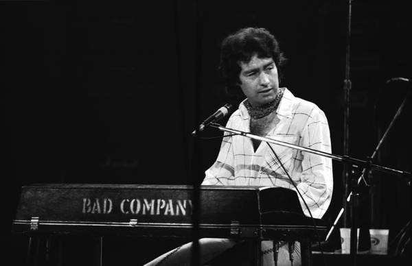 Photograph - Bad Company 1977 by Ben Upham