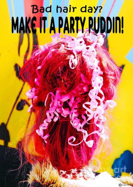 Digital Art - Bad Hair Day by Lizi Beard-Ward