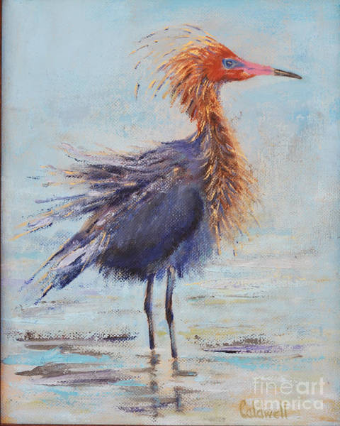 Wall Art - Painting - Bad Hair Day by Patricia Caldwell