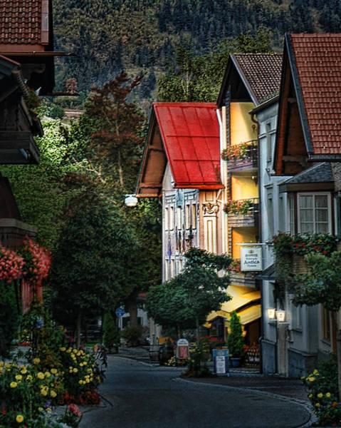 Photograph - Bad Hindelang Austria At Dusk by Ginger Wakem