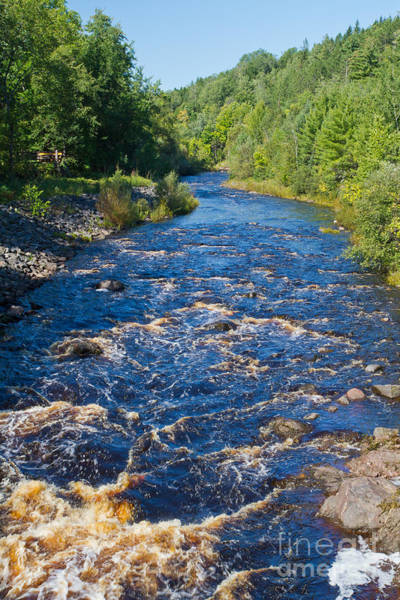 Photograph - Bad River Rapids 2 by Kevin McCarthy