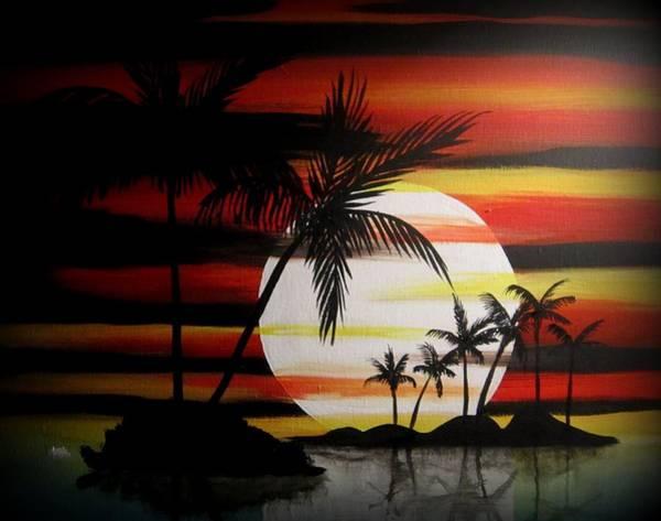 Bad Sunfire Art Print