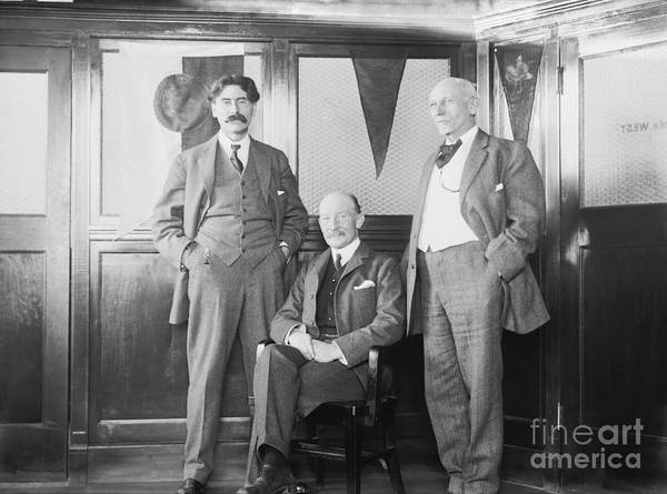 Member Of Congress Wall Art - Photograph - Baden-powell With Us Scouting Pioneers by Library Of Congress