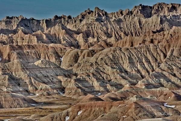 Photograph - Badlands by Fiskr Larsen