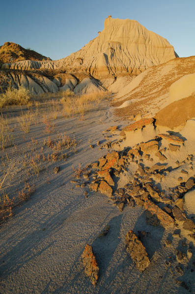 Dinosaur National Park Photograph - Badlands Formations At Dinosaur by Rebecca Schortinghuis