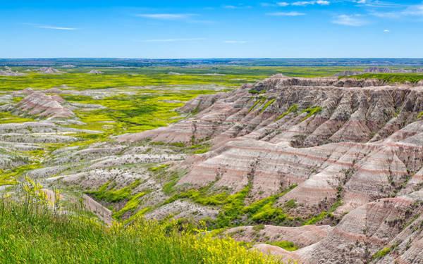 Photograph - Badlands Grandeur by John M Bailey