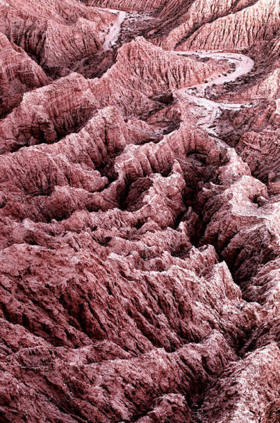 Photograph - Badlands Of Anza Borrego Desert - Borrego Springs - California by Photography  By Sai