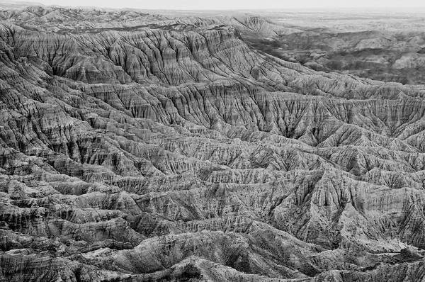Photograph - Badlands Of Great American Southwest - 3 by Photography  By Sai