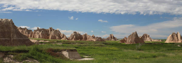 Photograph - Badlands Rock Formations by Jean Clark
