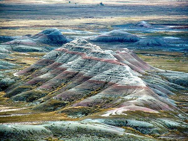 Photograph - Badlands1 by Gerald Greenwood
