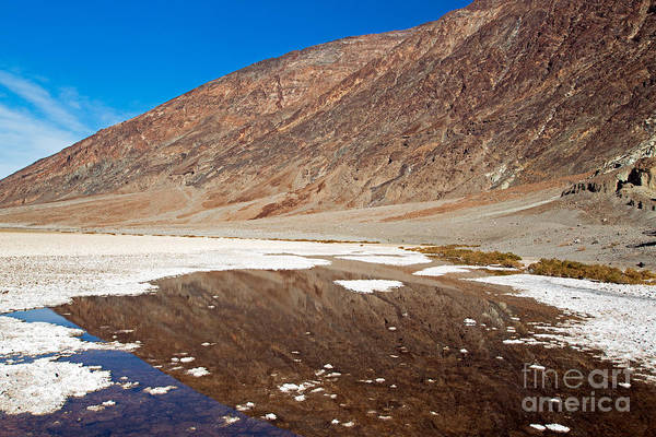 Photograph - Badwater Basin Death Valley National Park by Fred Stearns